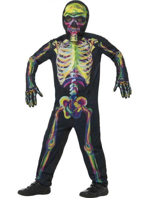 Glow in the Dark Skeleton Halloween Children's Fancy Dress Costume