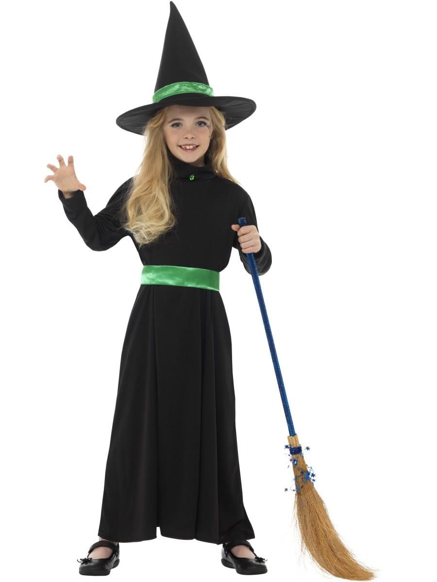 Wicked Witch Halloween Children's Fancy Dress Costume