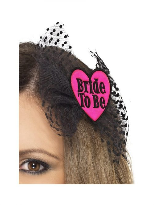 Bride to Be Bow with Netting
