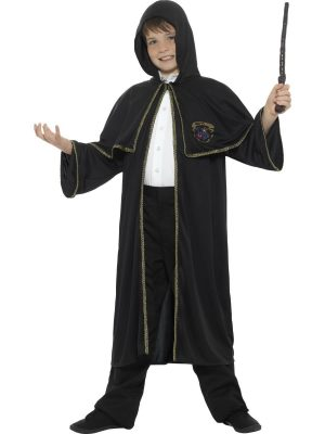 Wizard Cloak Unisex Children's Fancy Dress Costume