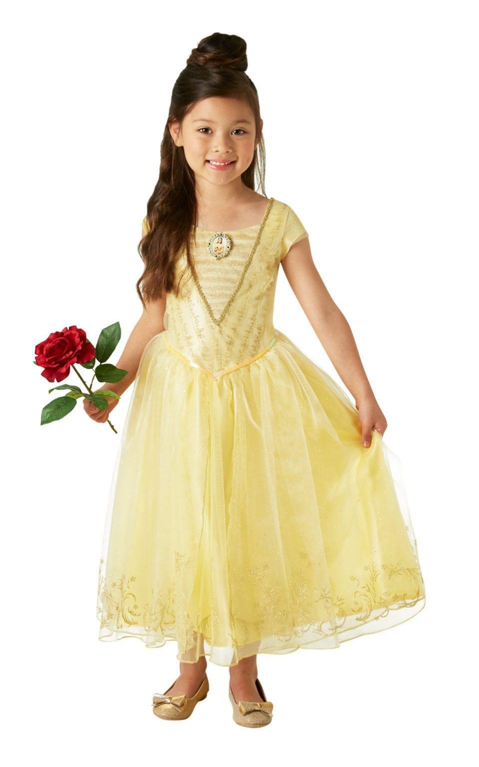 Disney's Beauty & The Beast Belle Deluxe Children's Fancy Dress Costume