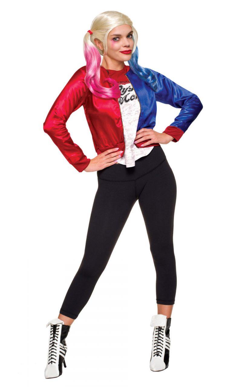 Suicide Squad Harley Quinn Kit Ladies Fancy Dress Costume