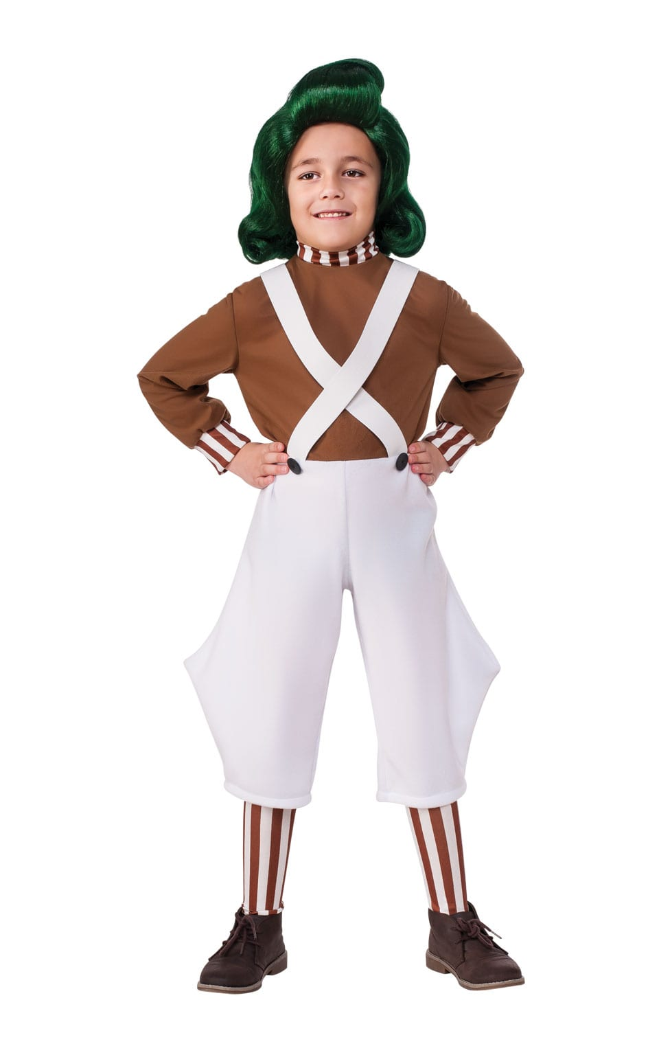 Oompa Loompa Children's Fancy Dress Costume