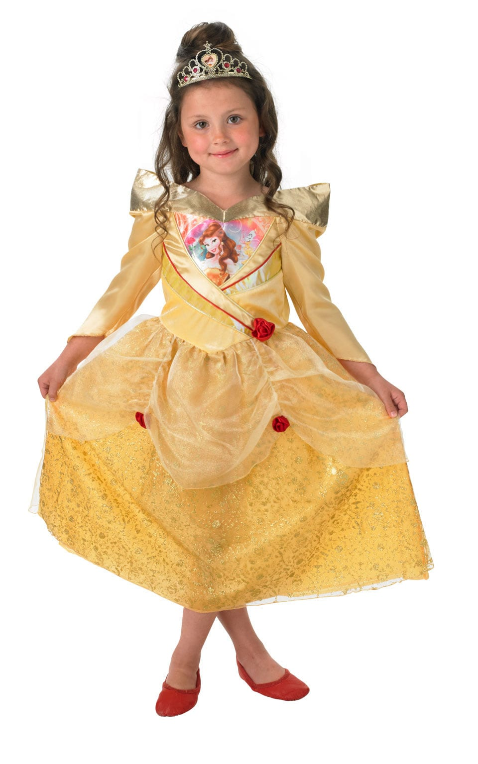 Disney Princess Shimmer Belle Children's Fancy Dress Costume