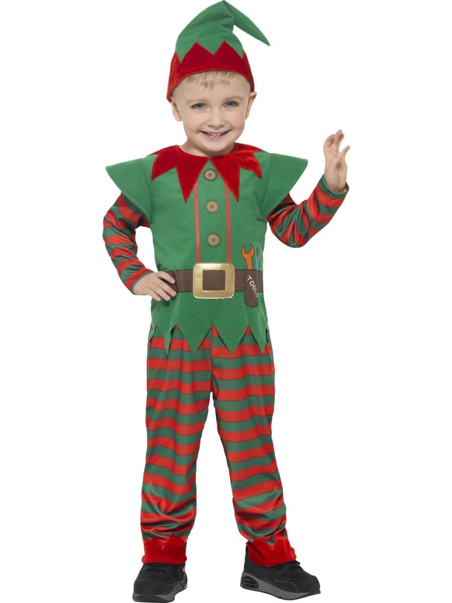Elf Toddler Unisex Children's Christmas Fancy Dress Costume