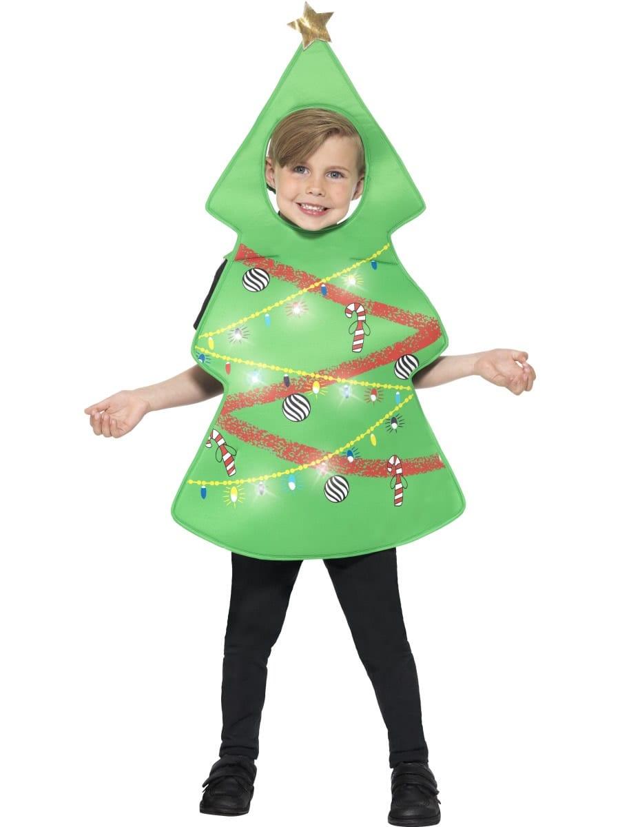 Christmas Tree Unisex Children's Christmas Fancy Dress Costume