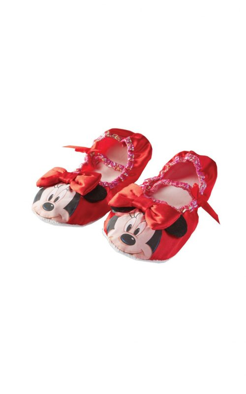 Disney's Minnie Mouse Red Children's Slippers