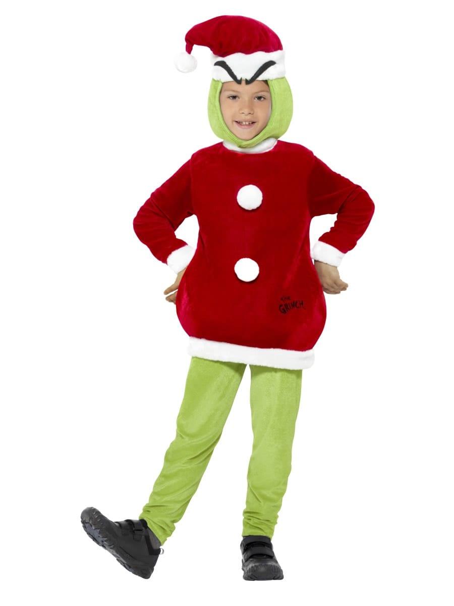 Dr Seuss The Grinch Unisex Children's Christmas Fancy Dress Costume