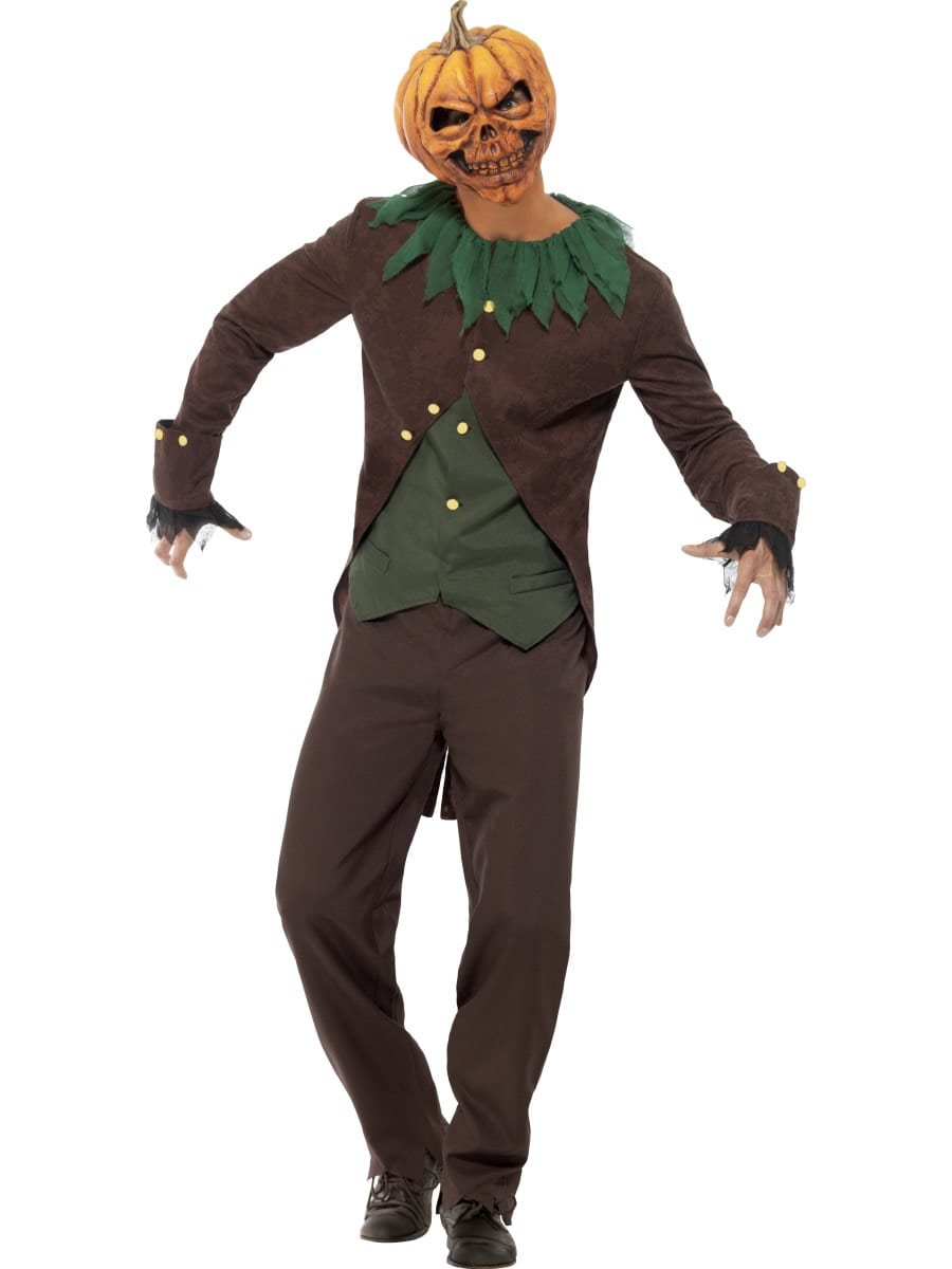Goosebumps Jack O' Lantern Men's Fancy Dress Costume