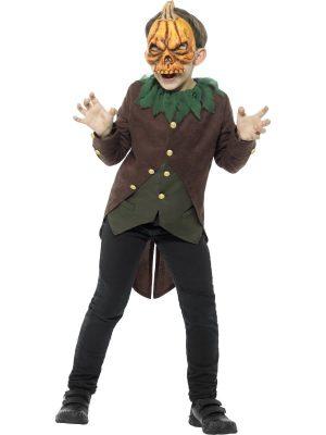 Goosebumps Jack O' Lantern Children's Halloween Fancy Dress Costume