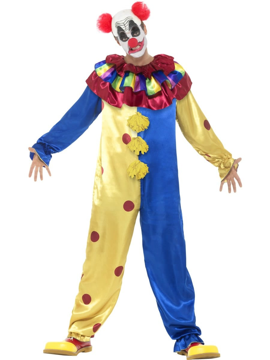 Goosebumps Clown Men's Fancy Dress Costume