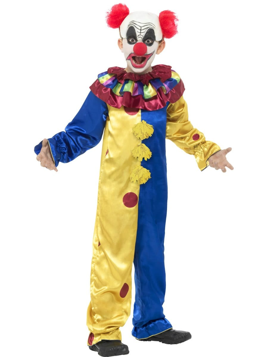 Goosebumps The Clown Children's Halloween Fancy Dress Costume