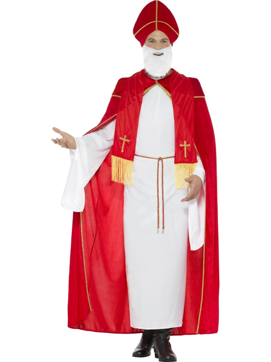 Deluxe Saint Nicholas Christmas Fancy Dress Costume