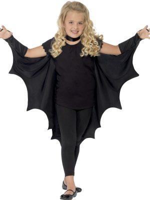 Vampire Bat Wings Unisex Children's Halloween Fancy Dress Costume