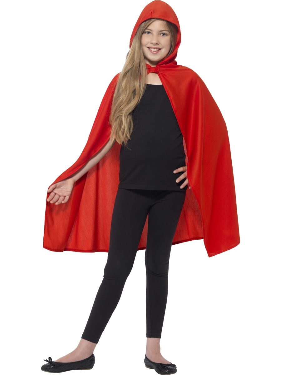 Red Hooded Children's Cape