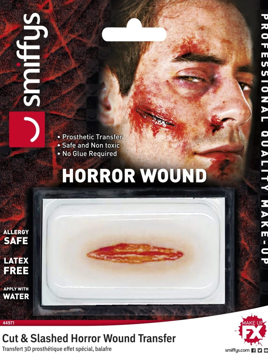 Cut & Slashed Wound Allergy & Latex Free