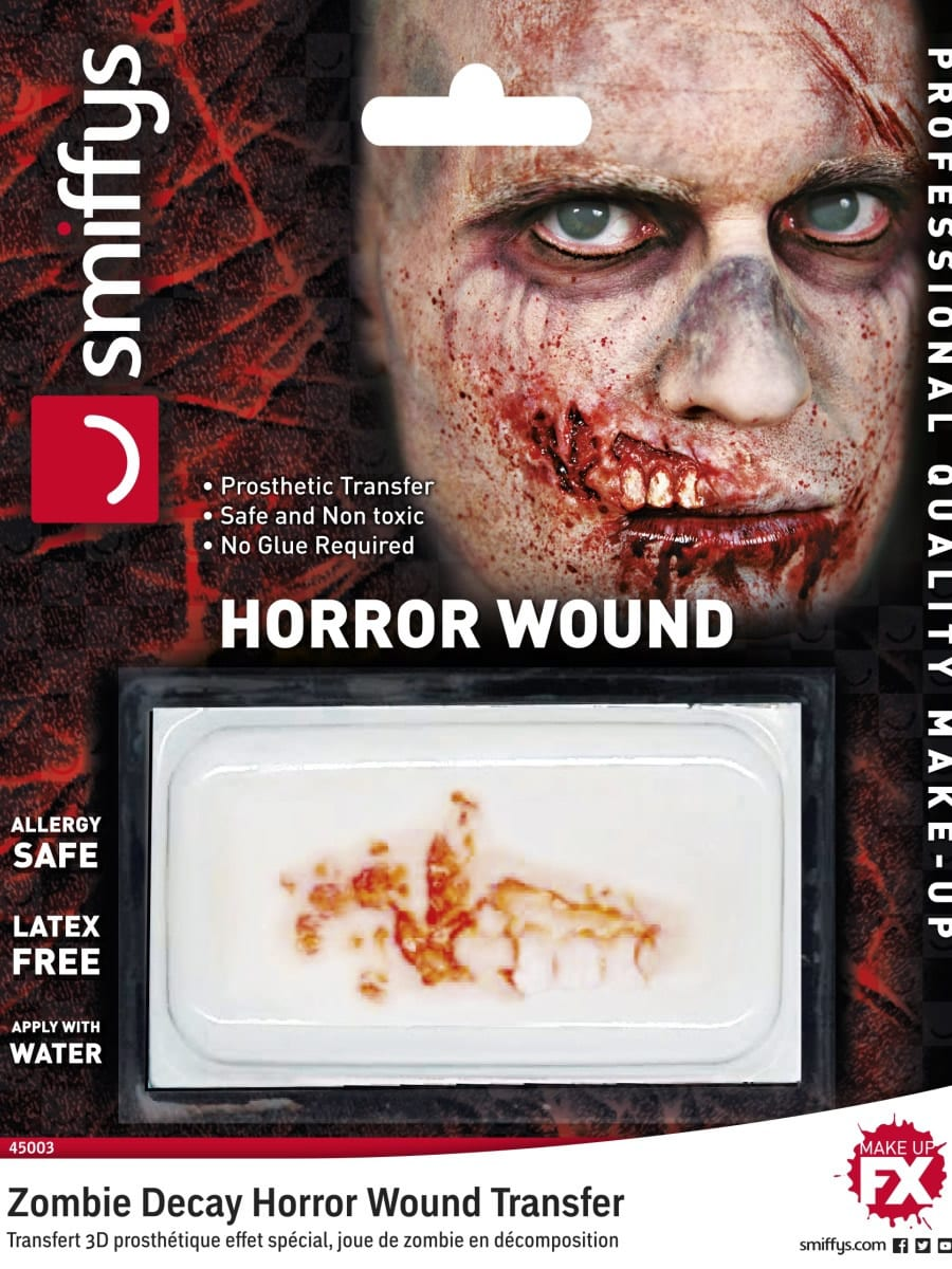 Zombie Decay Wound Allergy & Latex Free