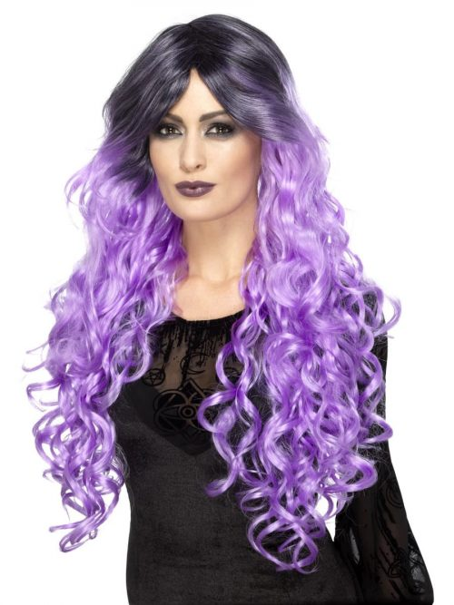 Gothic Glamour Lilac Purple Wig