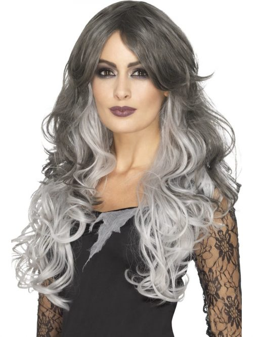 Professional Quality Deluxe Gothic Bride Wig