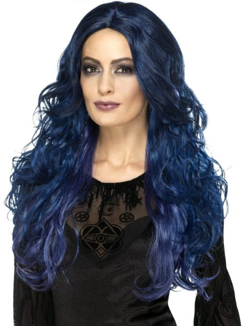 Occult Witch Blue Siren Wig