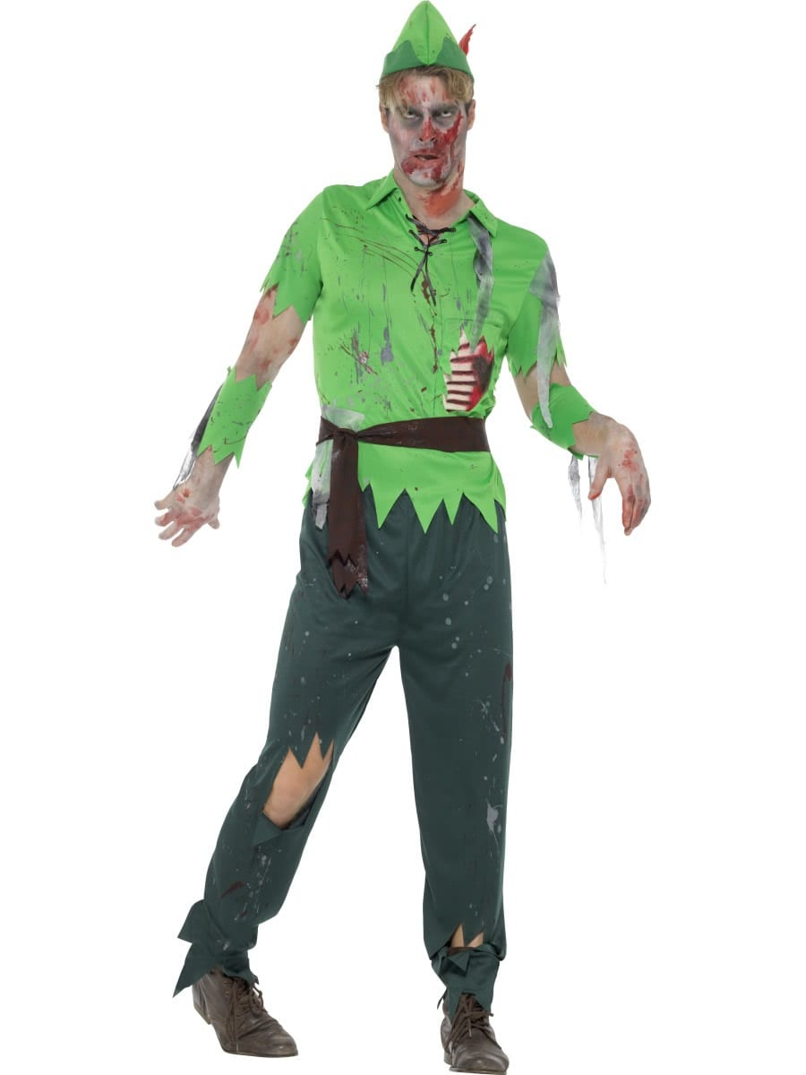 Zombie Alley Zombie Lost Boy Men's Fancy Dress Costume