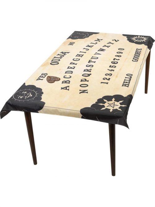Ouija Board Table Cloth & Planchette Coaster