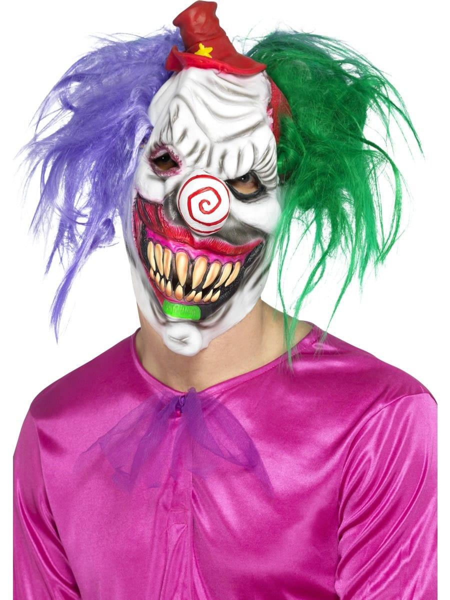 Kolourful Killer Klown Mask