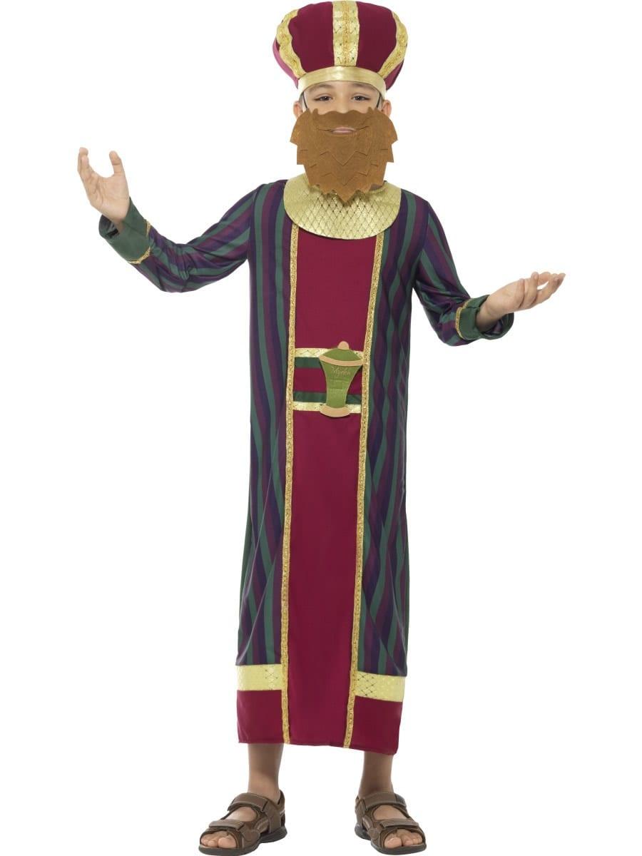 King Balthazar Children's Christmas Fancy Dress Costume