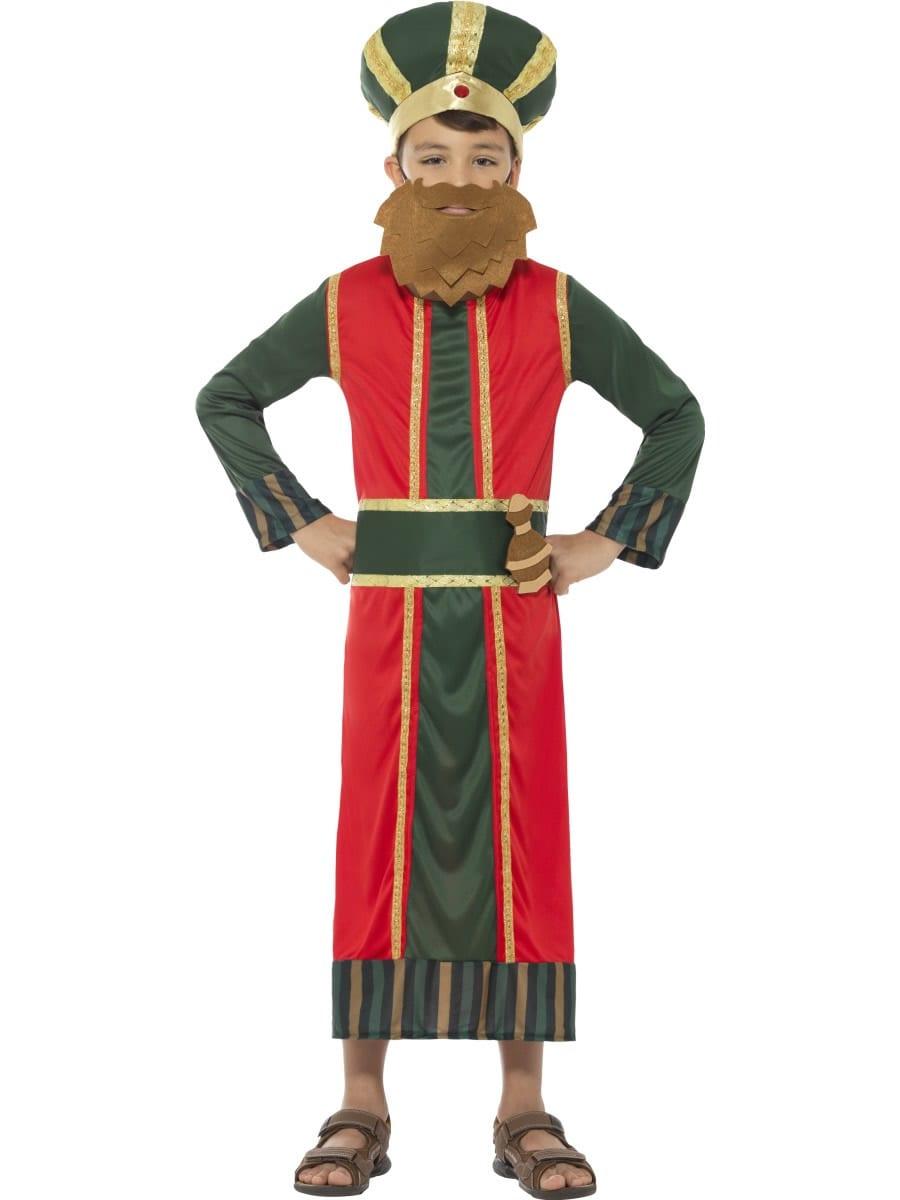 King Gaspar Children's Christmas Fancy Dress Costume