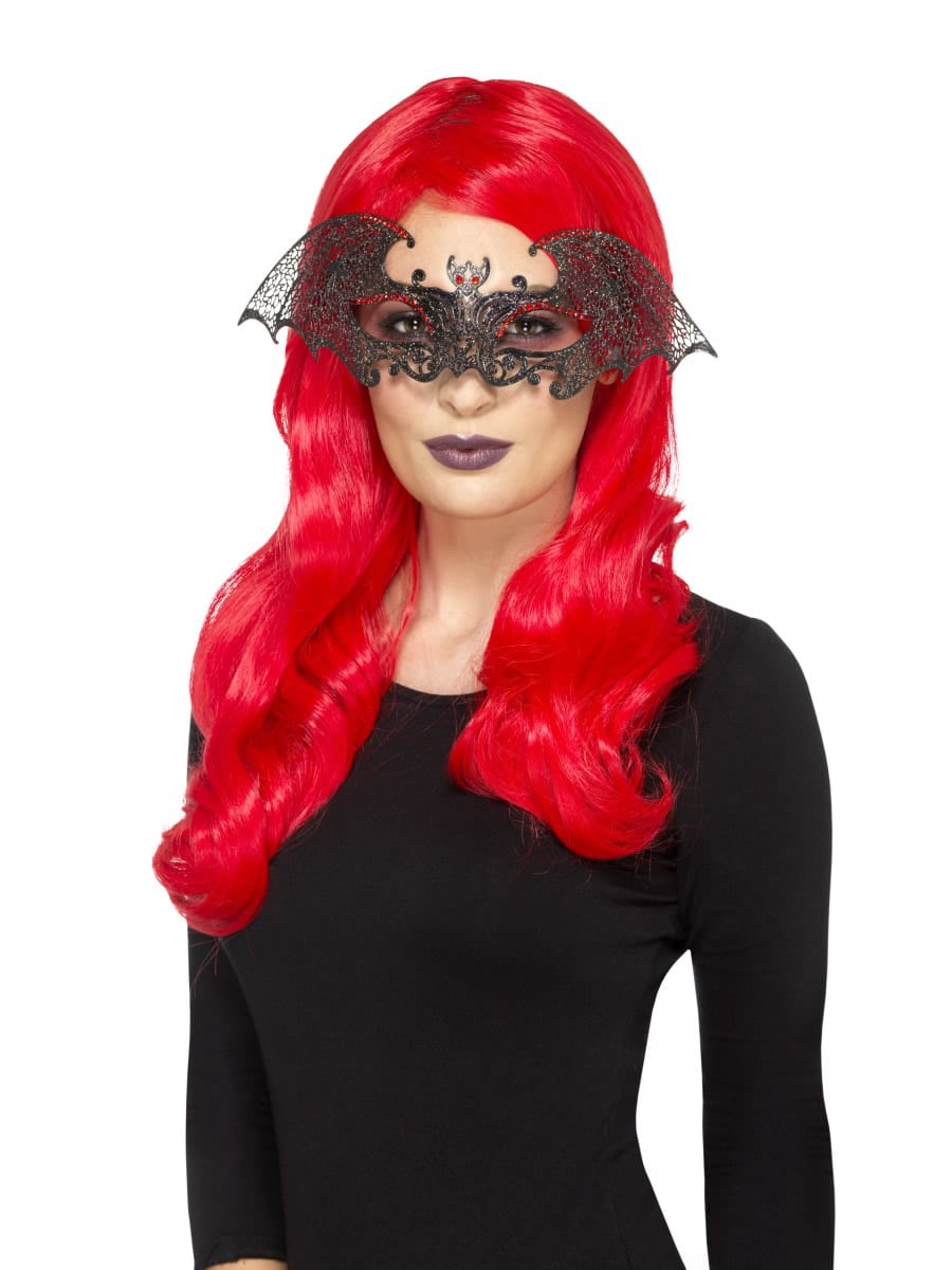 Metal Filigree Bat Eyemask