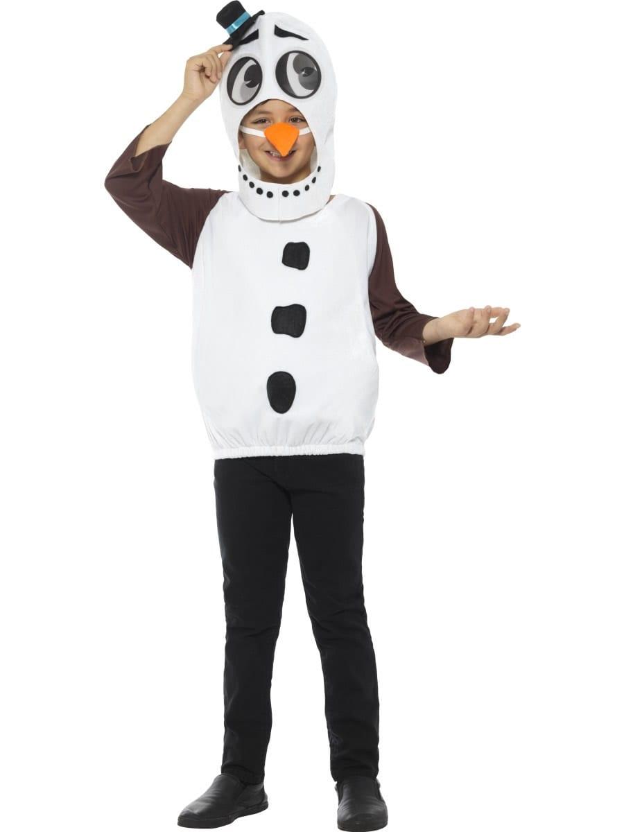 Deluxe Snowman Unisex Children's Christmas Fancy Dress Costume