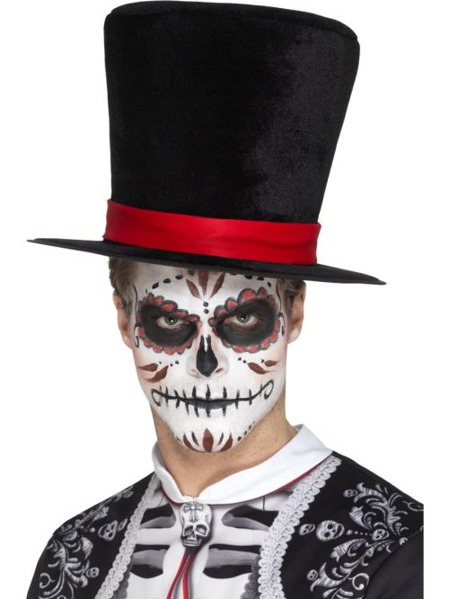 Day of the Dead Top Hat,