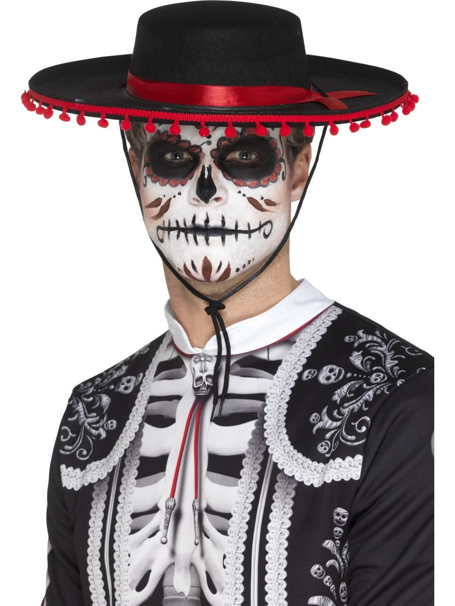 Day of the Dead Senor Hat