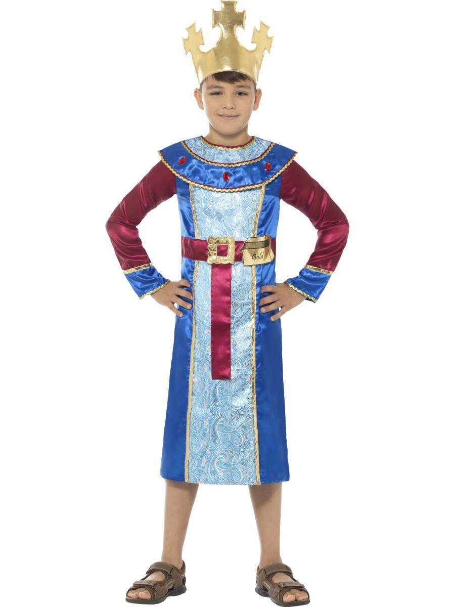 King Melchior Children's Christmas Fancy Dress Costume