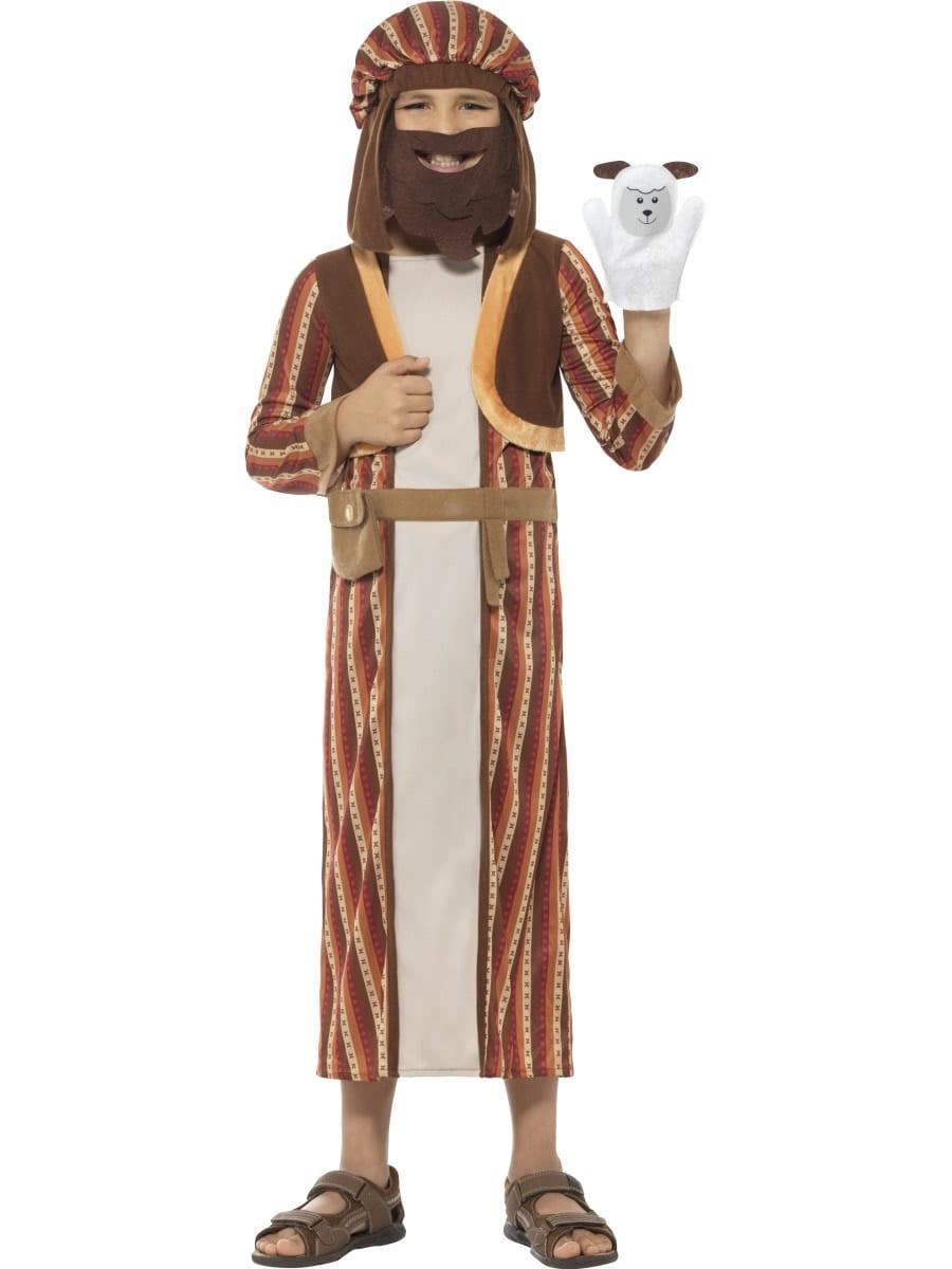 Nativity Shepherd Children's Christmas Fancy Dress Costume