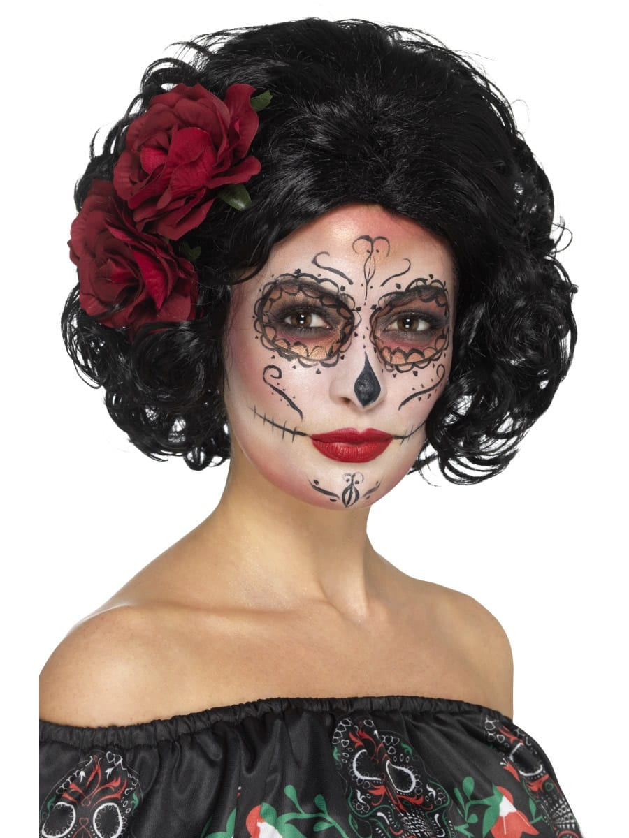 Day of the Dead Deluxe Doll Wig