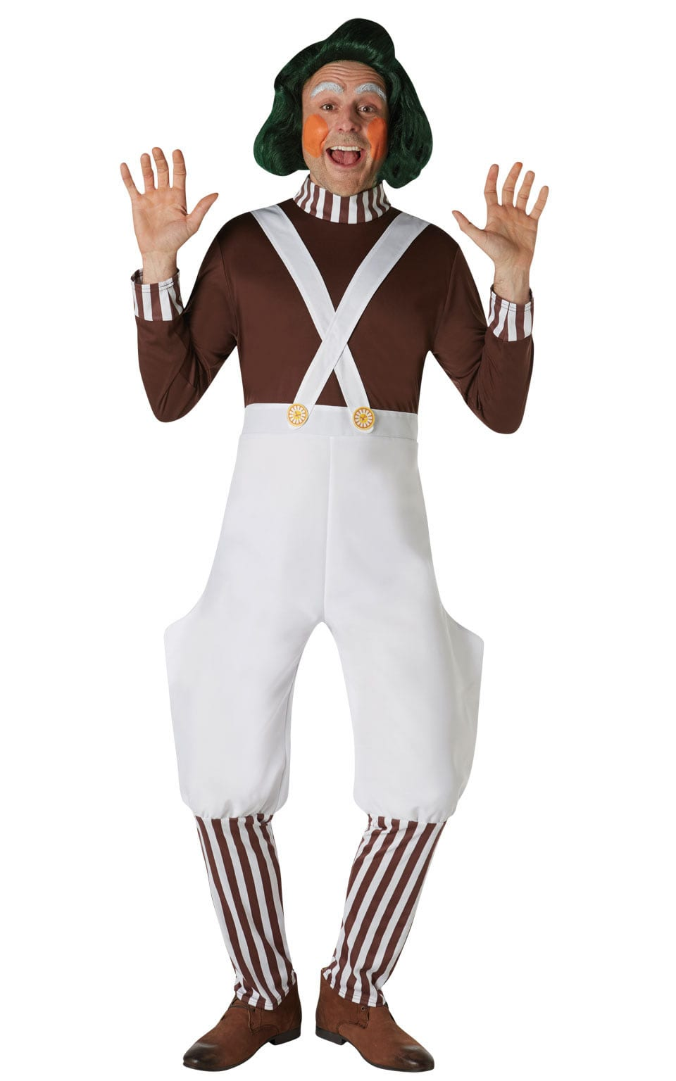 Oompa Loompa (Umpa) Men's Fancy Dress Costume