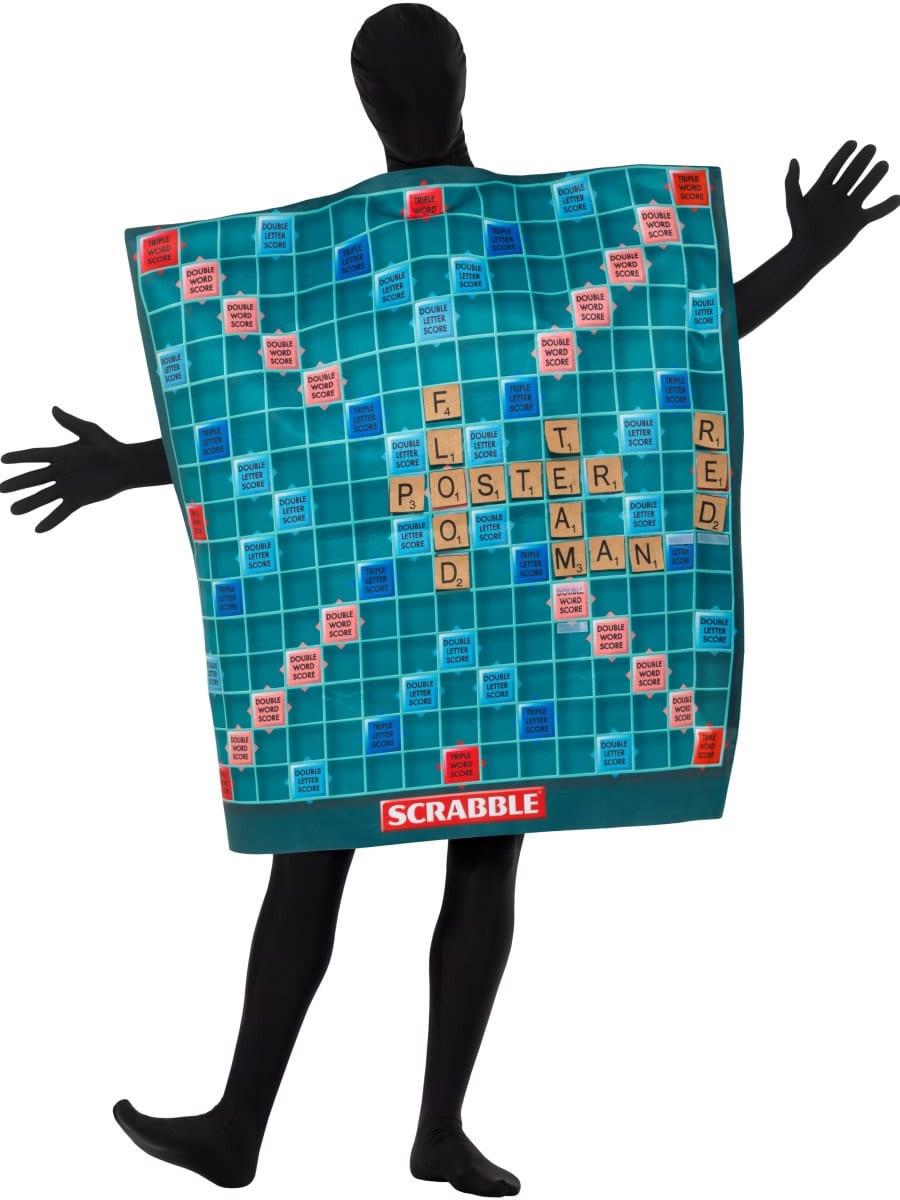 Scrabble Board Unisex Fancy Dress Costume