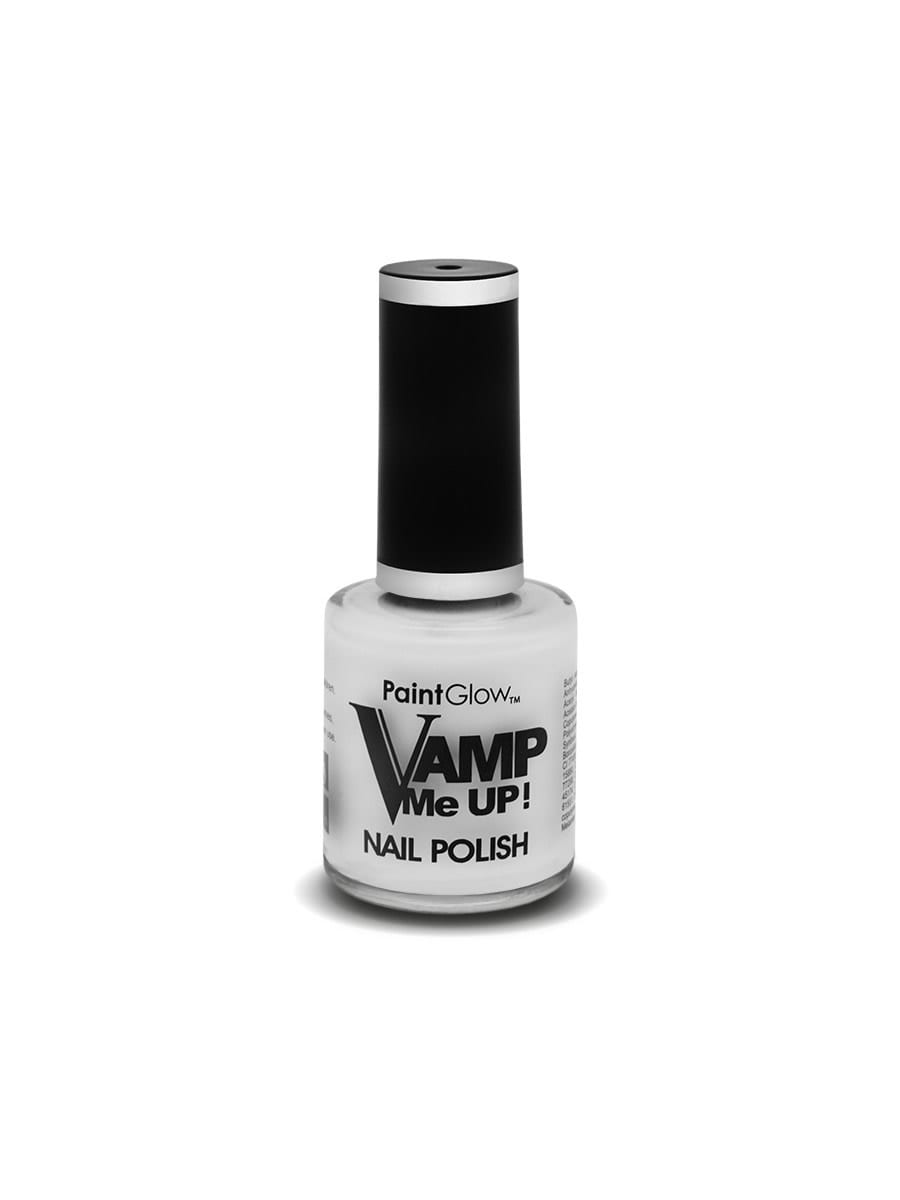 Vamp Me Up Nail Polish, White, 10ml