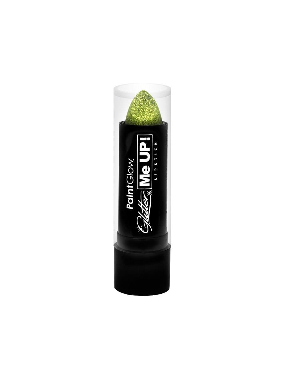 PaintGlow Glitter Me Up Lipstick Gold 4g
