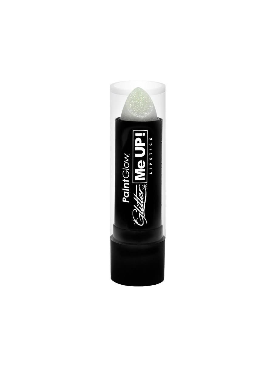 PaintGlow Glitter Me Up Lipstick White 4g