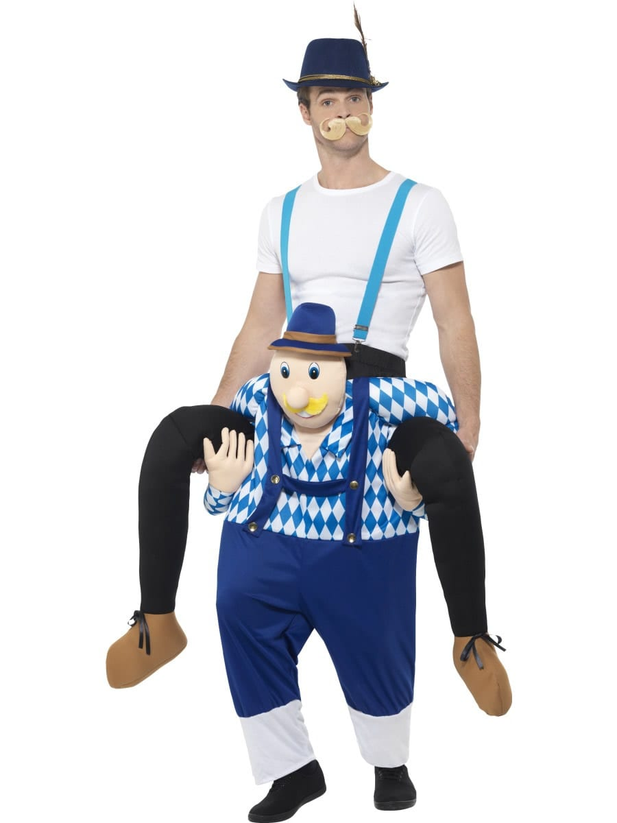 Piggyback Bavarian Novelty Fancy Dress Costume