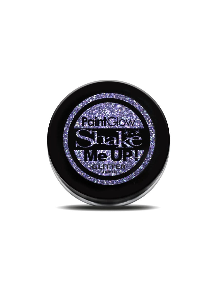 Holographic Glitter Nail Shaker Violet 5g
