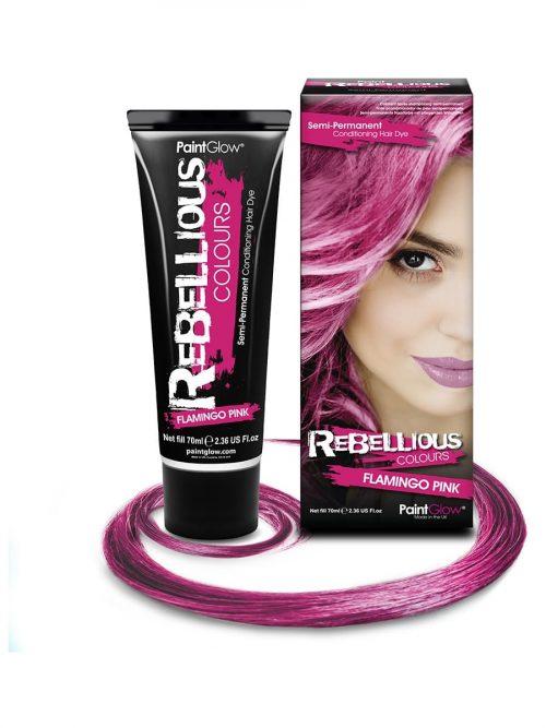PaintGlow Semi-Permanent Hair Dye Flamingo Pink