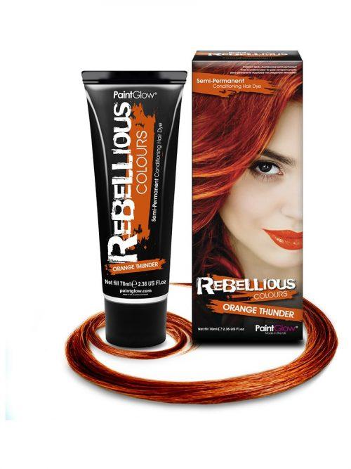 PaintGlow Semi-Permanent Hair Dye Orange