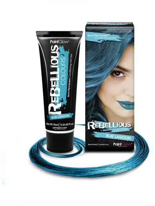 PaintGlow Semi-Permanent Hair Dye Blue Lagoon