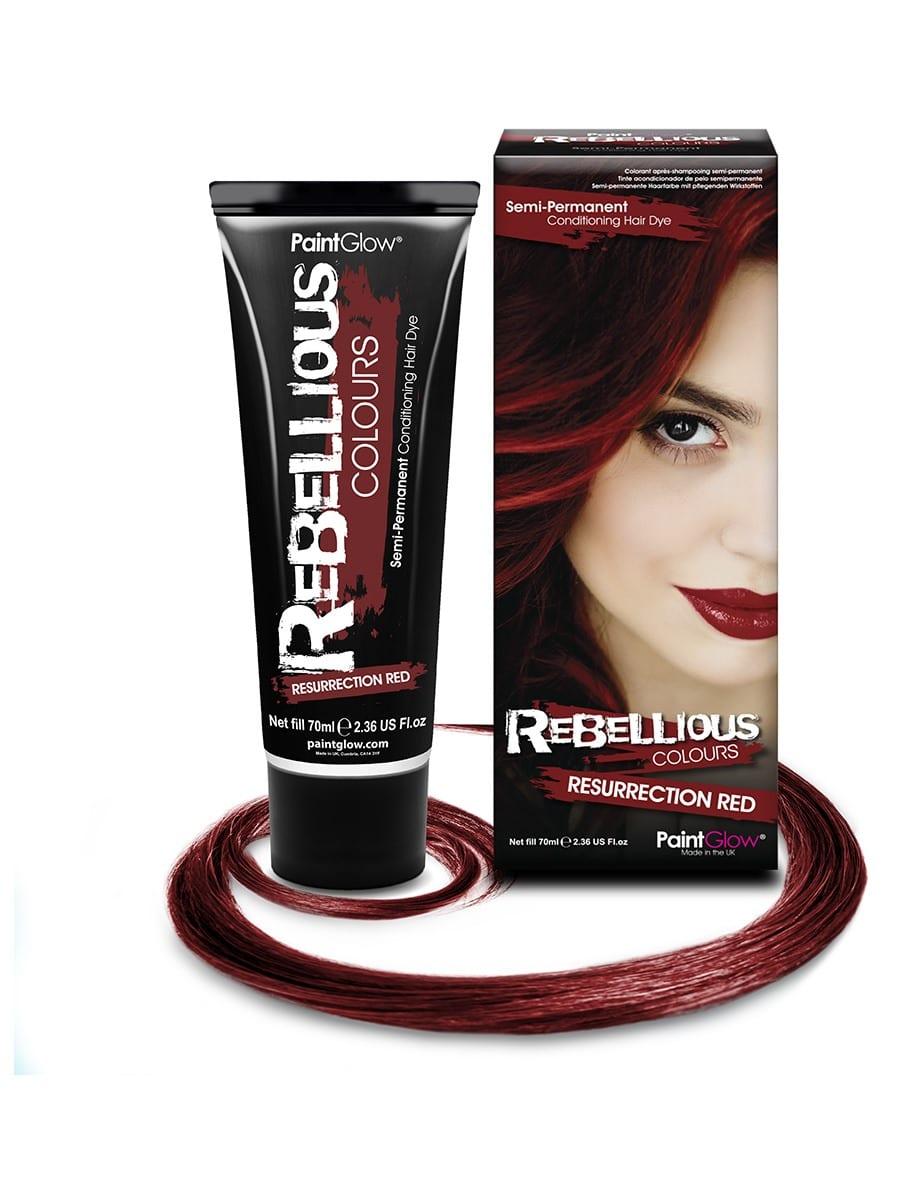 PaintGlow Semi-Permanent Hair Dye Resurrection Red