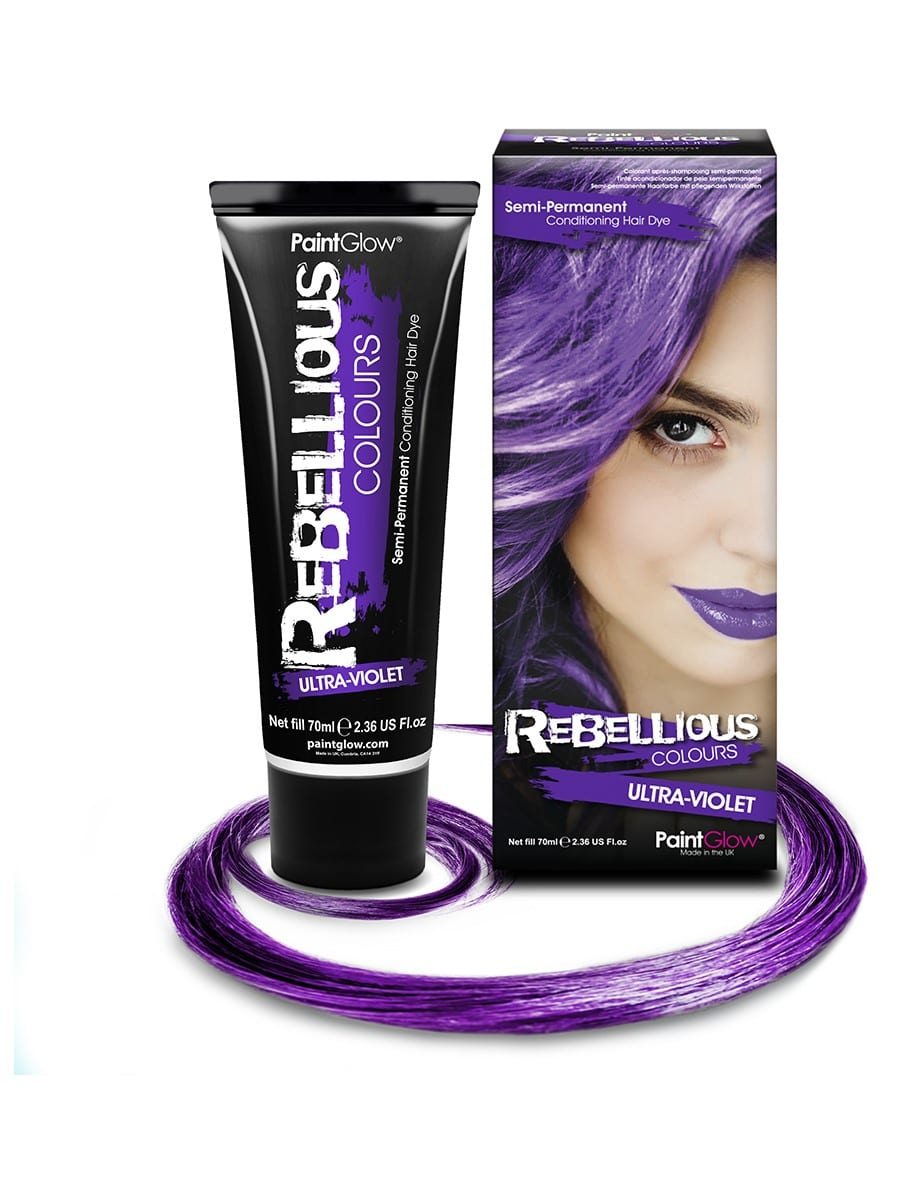 PaintGlow Semi-Permanent Hair Dye Ultra Violet