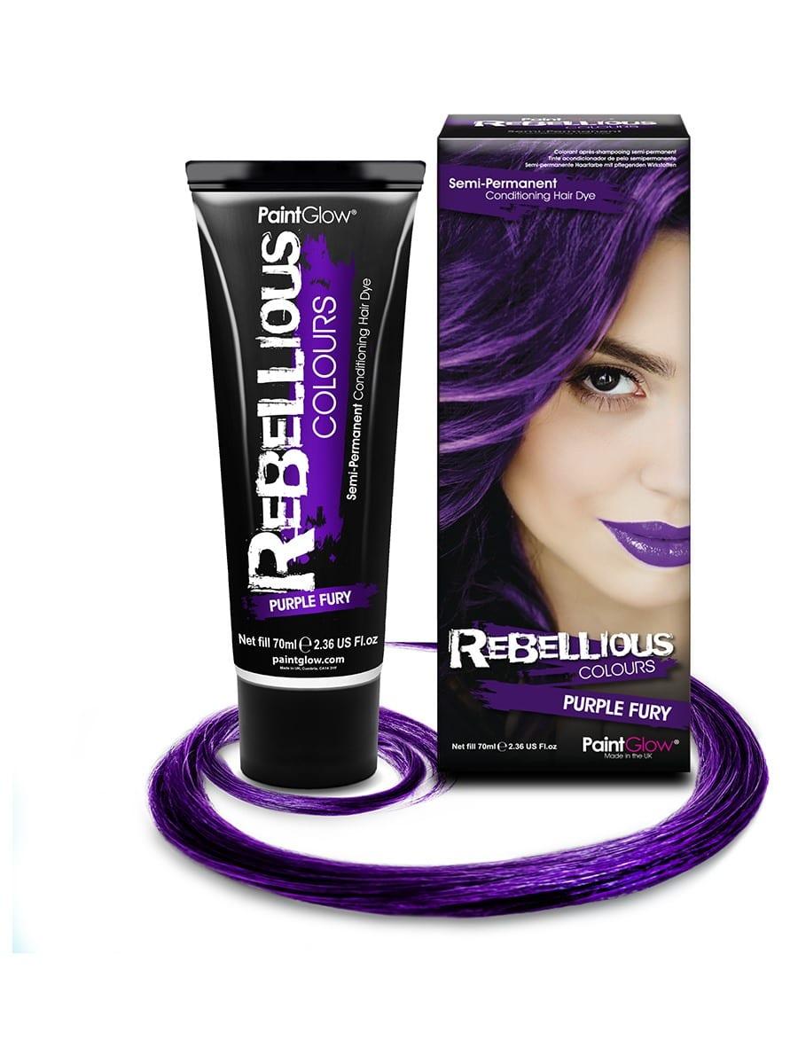 PaintGlow Semi-Permanent Hair Dye Purple Fury