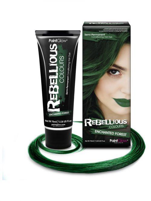 PaintGlow Semi-Permanent Hair Dye Enchanted Forest